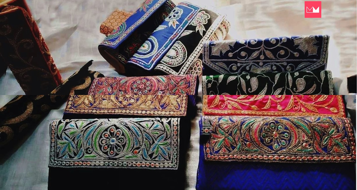 This Store in Kashmir Sells Amazing Tilla Clutches