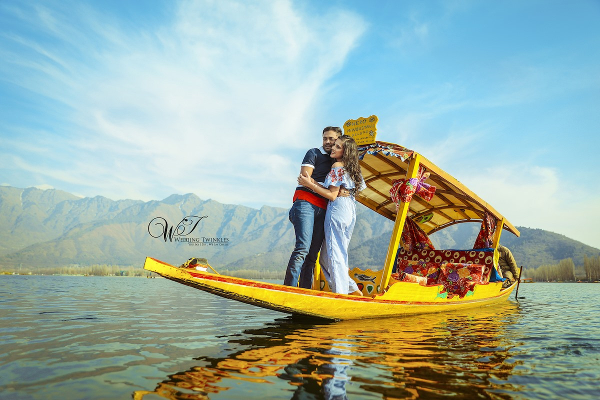 9 Beautiful Locations for Pre and Post Wedding Shoots in Kashmir